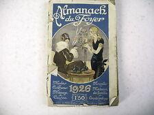 ALMANACH DU FOYER 1926 cuisine conseils pratiques mode coiffure