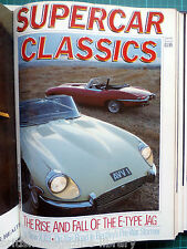 Supercar Classics Autumn 1985 Jaguar E-type XJ13 replica Bentley 4 1/2-litre