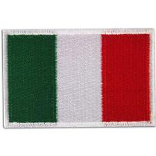 Italian Italia Italy Rome Flag Embroidered Iron on Patch