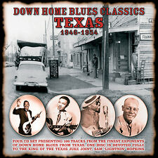 TEXAS BLUES New Sealed 2017 HISTORIC RECORDINGS 4 CD 100 SONG BOXSET