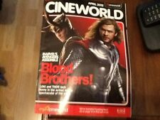 PROMOTIONAL MAGAZINE U.K. CINEMAS CINEWORLD RED 2012  MARVEL AVENGERS ASSEMBLE