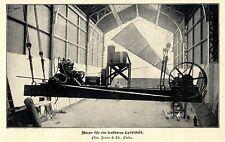 Luftschiffer Werkstatt * Santos-Dumont & Henri Lachambre IV * Bilddokument 1901