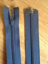 "New Navy Blue Open End Zip By Pex  28"" Or 72cm Fast FREE Postage"
