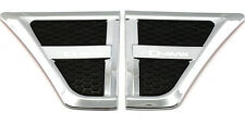Chrome Side Vent Side Vents Cover For Isuzu D-max Dmax Pickup 2012 - 2015