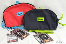 LTB: CRUMPLER LOW LEVEL AVIATOR TOILETRY TRAVEL POUCH - Brick