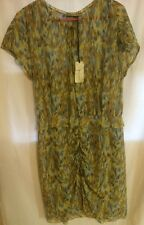 NWT BIMBA & LOLA  Silk Print Dress Size Medium
