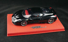 1/18 BBR FERRARI 458 SPECIALE GLOSS BLACK ON DELUXE LEATHER BASE LE 10 PCS N MR