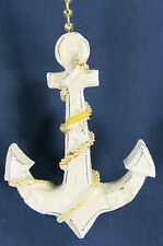 Ships Anchor Ceiling Fan or Light Pull Nautical Whimsey