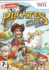 PIRATES HUNT FOR BLACKBEARD'S BOOTY for Nintendo Wii - with box & manual - PAL