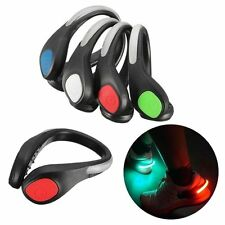 LED Luminous Shoe Safety Clip Running Jogging Night Time Trainers Light Top Sale