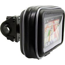 """Bike Motorcycle handlebar Mount Case Garmin Nuvi TomTom Magellan 5"""" 4.3"""" GPS"""