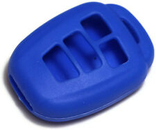 Blue 2012-13 Toyota Camry Key Fob Cover Jacket Silicon Pouch Bag