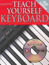 Teach Yourself Keyboard Learn to Play Piano Beginner Music Lessons Book DVD NEW
