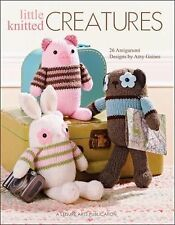 Little Knitted Creatures by Amy Gaines (2010, Paperback)