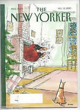 The New Yorker magazine December 13 2010 ~ George Booth ~ Dog ~ Joyce Carol Oats
