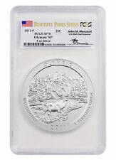 2011-P 5 oz Silver ATB Olympic NP PCGS SP70 (Beautiful Parks/Mercanti) SKU43629