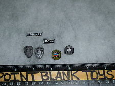 DAMTOYS PATCHES OSN SATURN JAIL SPETSNAZ POLICE 1/6TH ACTION FIGURE TOYS dam