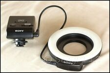 Sony Alpha HVL-RLAM Macro Ring Light - Excellent Plus Condition