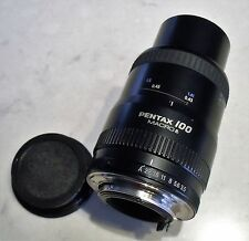 """Near MINT"" SMC Pentax-FA 100mm f/3.5 MACRO AF K Mount Lens from Japan"