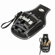 9in1 Electrician Waist Pocket Tool Belt Pouch Bag Screwdriver Utility Kit Holder