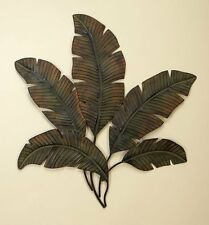 "Deco 79 Metal Palm Wall Decor Home Decor and Interior Design 35 by 34"" NEW"