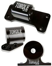 Billet aluminum 3 piece Engine Mount kit: Fits Evo 8 9 by Torque Solution