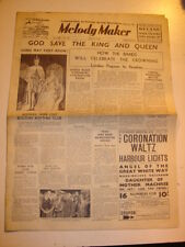 MELODY MAKER 1937 MAY 8 KING QUEEN CORONATION BOLTON RHYTHM CLUB BBC KYTE