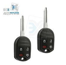 2 Uncut Replacement Keyless Entry Remote Head Key Fob for Ford 2011-2016 F-350