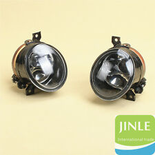 Pair Of Front Halogen Fog Lamp Fog Light W/ H11 For VW Golf Jetta MK5 Rabbit