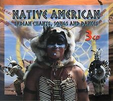 Native American: Indian Chants, Songs and Dances by Various Artists (CD,...