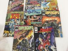 Comic Book Lot Asst 8 pc 1990's Star Trek Supercops Magnus Grim Jack Outlaws