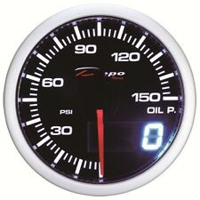 52mm Depo Racing Digital Oil Pressure Gauge 150PSI WA5227LED Honda Acura Genesis