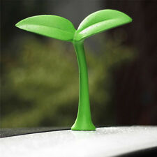 3D Car Stereo Saplings Sprout Anti-Collision Personality Roof Decorations Green