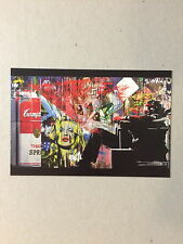 MR BRAINWASH,'TOMATO SPRAY MAX' exhibition promotional card, 2012