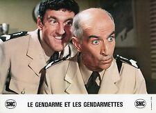 LOUIS DE FUNES LE GENDARME ET LES GENDARMETTES 1982 VINTAGE LOBBY CARD #1