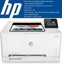 *NEW* HP LaserJet Pro M252DW WiFi NFC Colour Laser Printer - NO TONERS, RRP £202