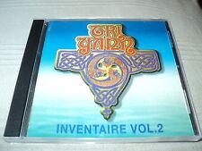 """CD """"INVENTAIRE - VOLUME 2"""" Tri Yann (il manque la jaquette arrière)"""