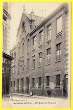 cpa Pas courante 75 - PARIS 95 rue de l'OUEST Église de PLAISANCE Montparnasse