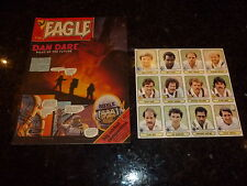 EAGLE Comic - Date 28/05/1983 - Inc CRICKET STICKERS - UK Paper Comic