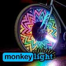Bike Wheel Light LED 32 Full Color Monkey Light M232 200 New Lumen Waterproof