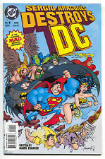 Sergio Aragones Destroys DC 1996 NM- Batman Superman Wonder Woman JLA