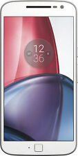 NEW Motorola MOTO G 4 Plus 4th Gen Unlocked Cell Phone 64GB White Smartphone