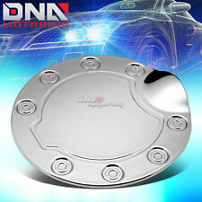 FOR 04-09 FORD F-150 FLEETSIDE CHROME PLATED FUEL TANK GAS FILLER DOOR COVER CAP
