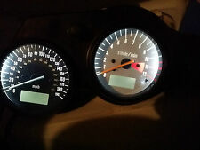 WHITE Suzuki TL1000S led dash clock conversion kit lightenUPgrade