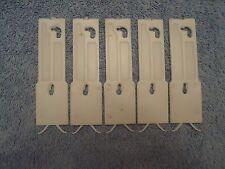 82 83 84 85 86 87 88 Olds Cutlass Door Moulding Plastic Clips - 5 Clips - NOS