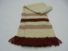 WOMEN'S ACRYLIC - VINTAGE MULTI  SHADES OF BROWN - SCARF!