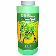 General Hydroponics Flora Gro Pint 16oz - GH 16 oz floragro grow series nutrient