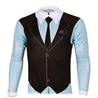 New Gentleman style Cycling Clothing Bike Bicycle Long Sleeve Jersey Sportwear