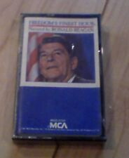 REAGAN ronald FREEDOM'S FINEST HOUR president Cassette- SEALED