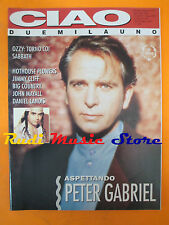 rivista CIAO 2001 19/1993 Peter Gabriel Ozzy Jimmy Cliff Big Country  * No cd